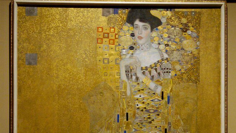 Portret van Adele Bloch-Bauer door Gustav Klimt. Het schilderij was onder meer te zien in de film Woman in Gold, met Helen Mirren in de hoofdrol. Beeld REUTERS