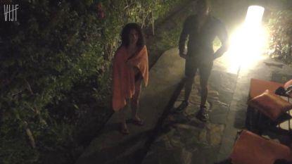 Dit zag je niet op tv in 'Temptation Island': Mezdi tracht de camera te slim af te zijn