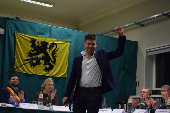 Steven De Vuyst trekt de Kamerlijst voor PVDA in Oost-Vlaanderen.