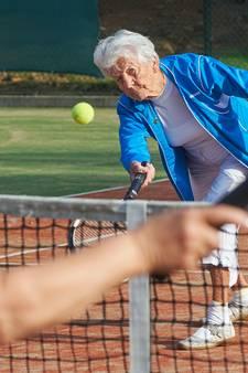 Gerda (92) was oudste tennisster in Uden: 'Het is mooi geweest'
