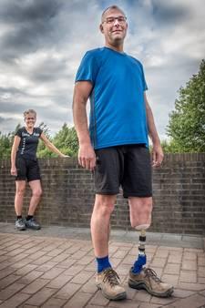 Barry loopt de Vierdaagse: Deze prothese is voor mij een succes