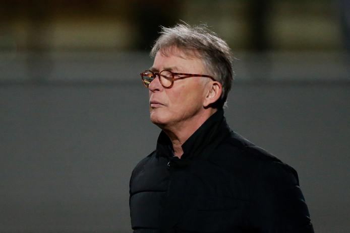 Interim-trainer Harry van den Ham van FC Dordrecht.