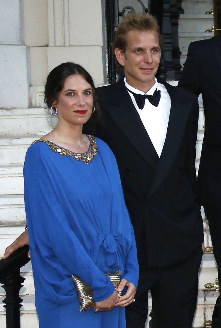 Adrea Casiraghi, de zoon van Prinses Caroline en zijn partner Tatiana Santo Domingo.