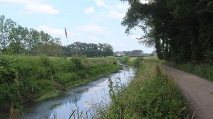 Extra water rond Herckenrode om vissen te redden