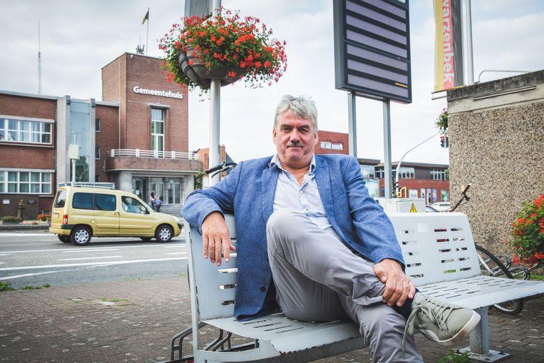 Frank Bruggeman, de oud-burgemeester van Zelzate.