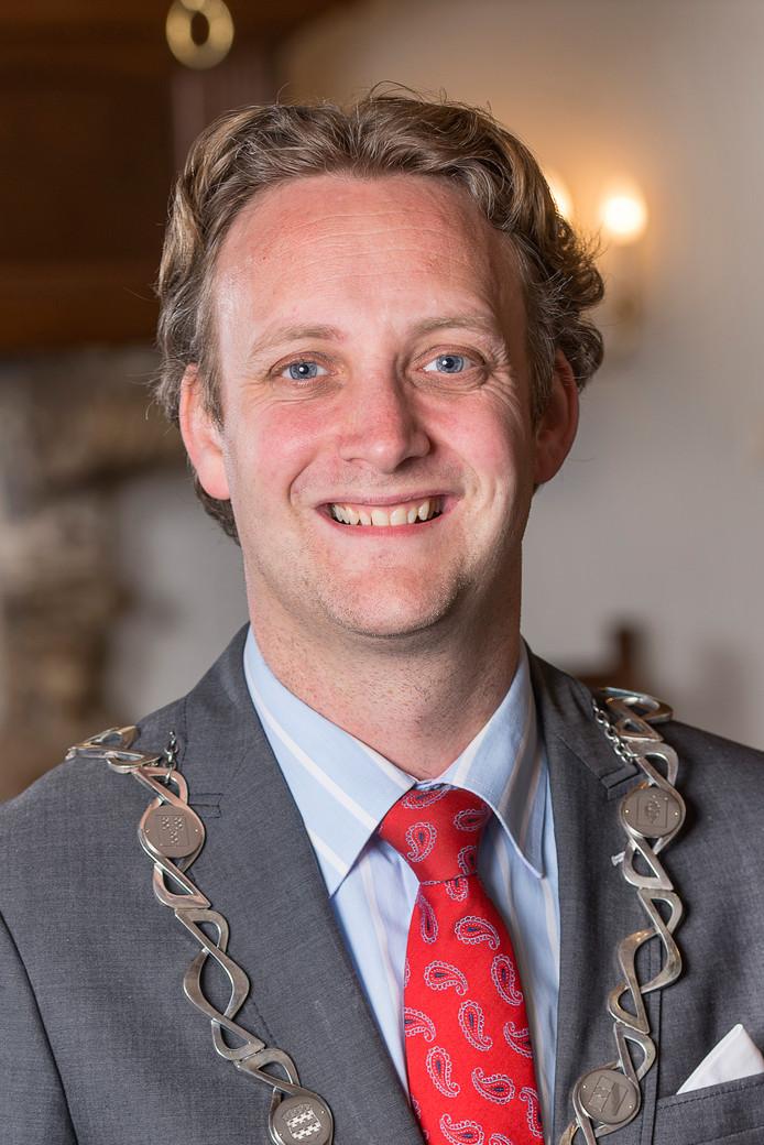 Burgemeester Pieter Verhoeve