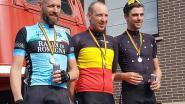 Wesley Bellen nationaal kampioen wielrennen bij de brandweermannen