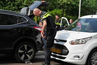 Kop-staartbotsing zonder gewonden op Ettensebaan in Breda