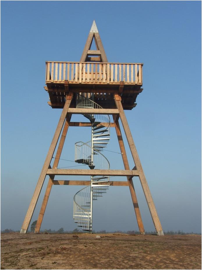Ontwerp van de uitkijktoren Hemelrijkse Waard bij Oijen.