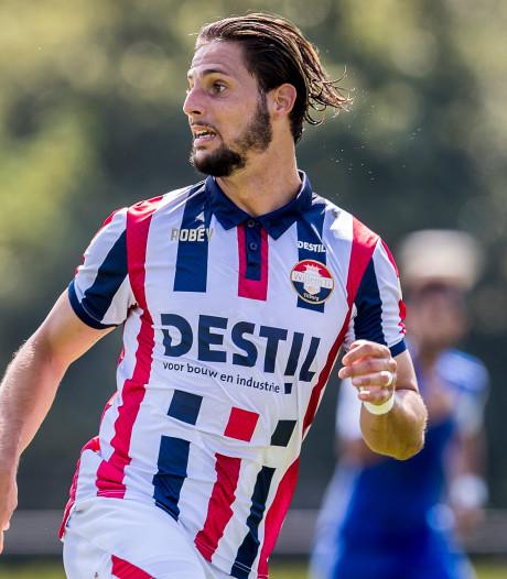 Willem II-spits Fran Sol gaat niet in op aanbod Braziliaanse topclub Santos