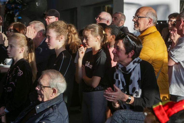 Wedstrijd Kim Clijsters in 'De Refferie'