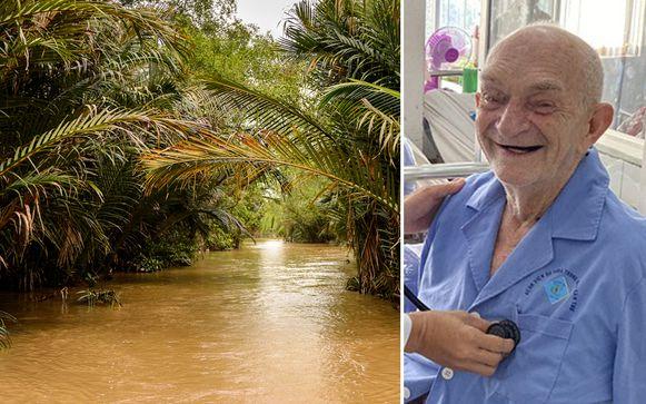 De 90-jarige toerist is blij dat hij het overleefde.