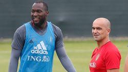 """De bondscoach merkt iets op: """"Lukaku heeft een elitebrein"""""""