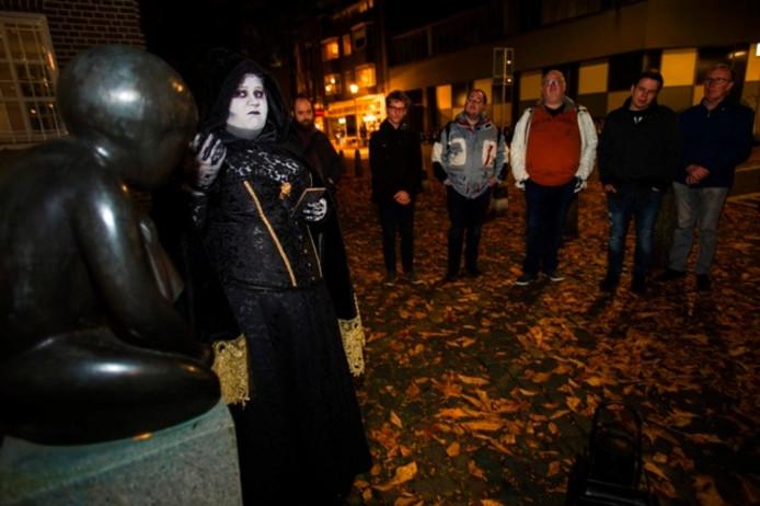 De Ghost Tour in Tilburg. Foto Marie-Thérèse Kierkels/BeeldWerkt