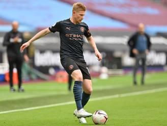 Man City evenaart slechtste competitiestart sinds sjeiks overnamen, Kevin De Bruyne maakt rentree