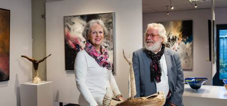 Galerie Tolg'Art in Wierden sluit de deuren: 'Ik ben niet weemoedig'