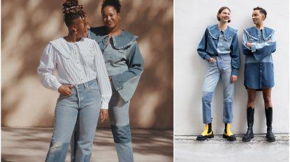 Wordt kleding huren het nieuwe shoppen? Levi's en Ganni lanceren denim collectie met stukken die enkel te huur zijn