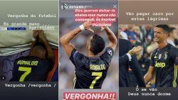 """Zus Cristiano ziedend na rood Ronaldo, waartegen hij niet in beroep kan gaan: """"Er zal hoge prijs betaald worden voor deze tranen"""""""