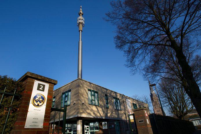 De Al Fourqaan-moskee aan de Otterstraat in Eindhoven (archieffoto).