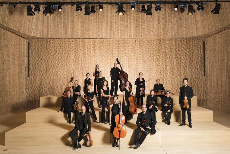 Ensemble Resonanz in Hamburg. Beeld Tobias Schult