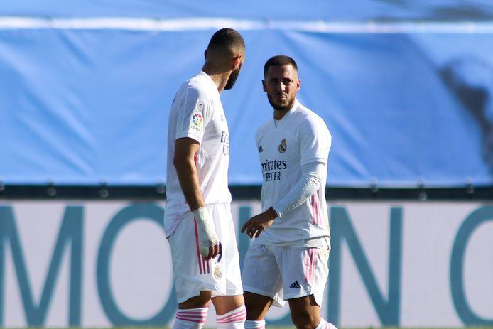 Benzema en Hazard.