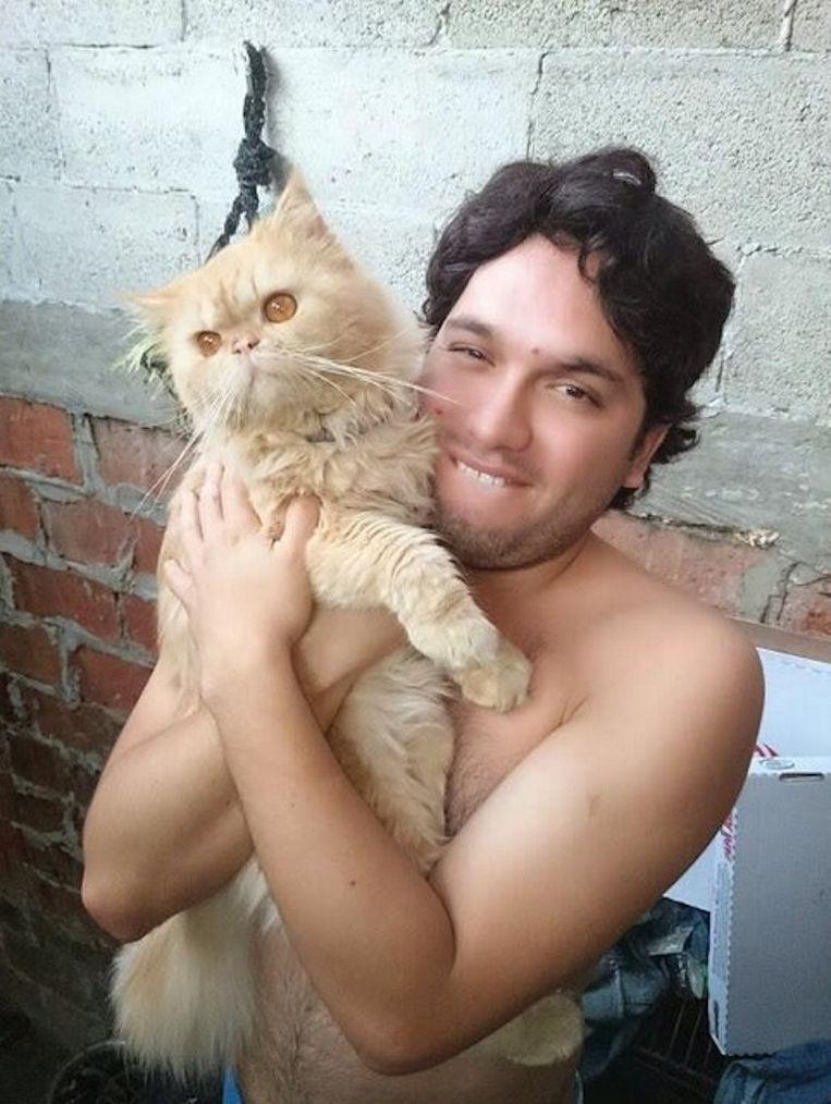Dief Jorge is dol op katten. Beeld /