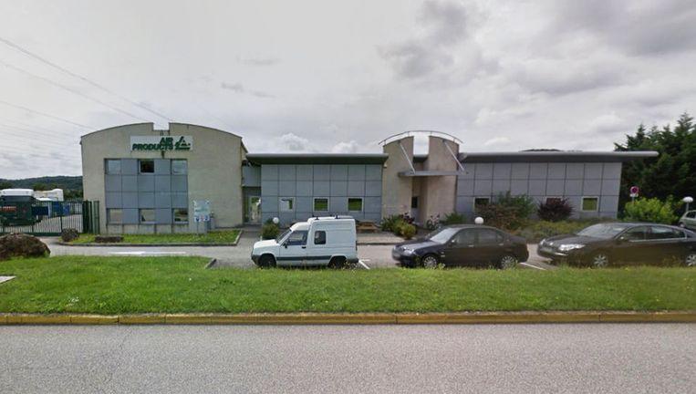 De gasfabriek in Saint-Quentin. Beeld Google Earth