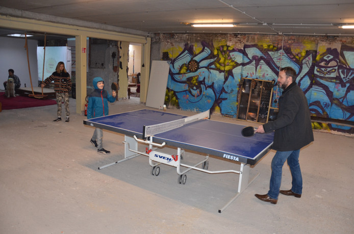 Op de BOMA-site kun je ook pingpongen.
