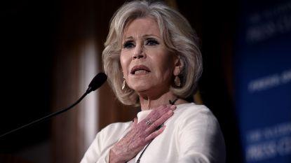 Jane Fonda voor de vijfde keer opgepakt bij klimaatprotest