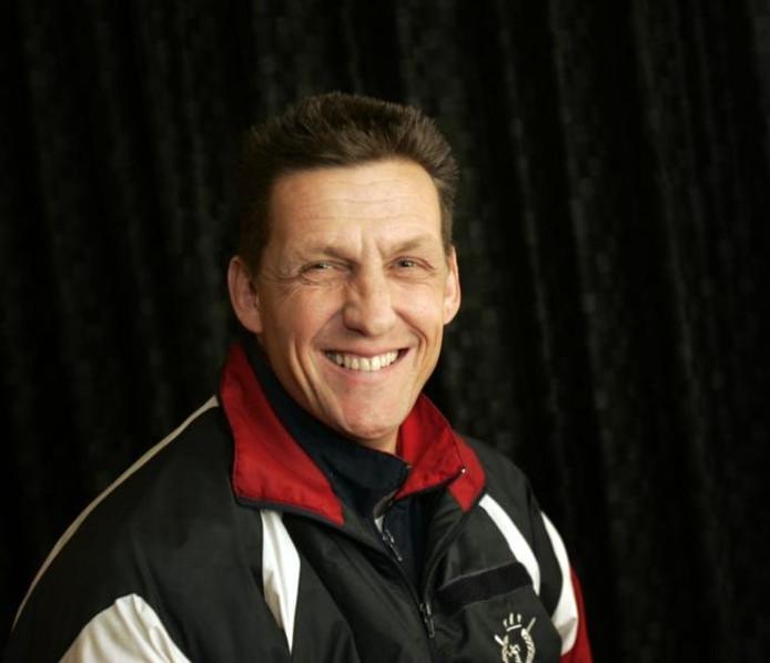 Trainer Ronald Tielemans van NWC, foto Rene Manders.