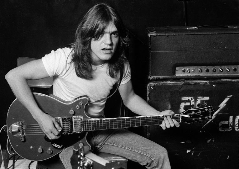 Malcolm Young (1953-2017).