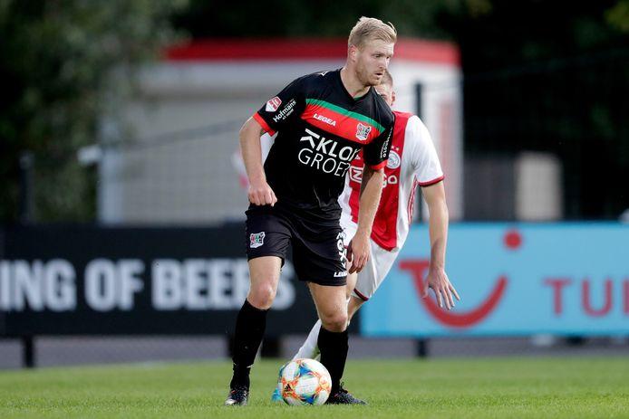 Mart Dijkstra is een van de basisspelers die niet terugkeert bij NEC.