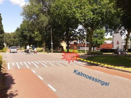 Moeder loopt met kinderen over straat in Kampen en wordt uit het niets mishandeld