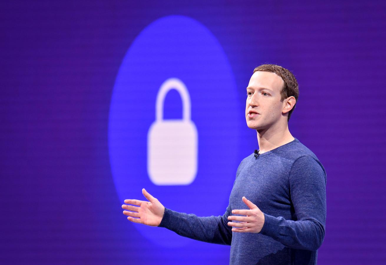 Mark Zuckerberg van Facebook