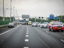 A12 even afgesloten door ongeluk bij Duiven