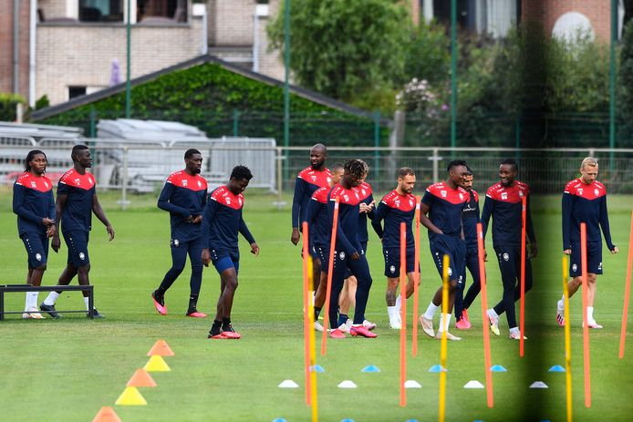Antwerp vandaag op training.