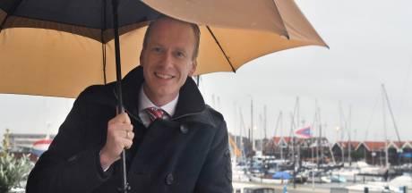 Cees van den Bos, burgemeester van 'Bru XL': 'Op Urk gebeuren dingen'