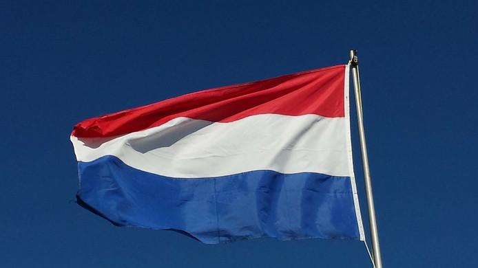De Nederlandse vlag.