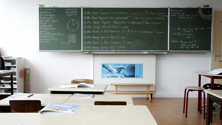 Een grote meerderheid van de schoolbesturen in het primair onderwijs steunt het doel van de lerarenacties. Beeld anp