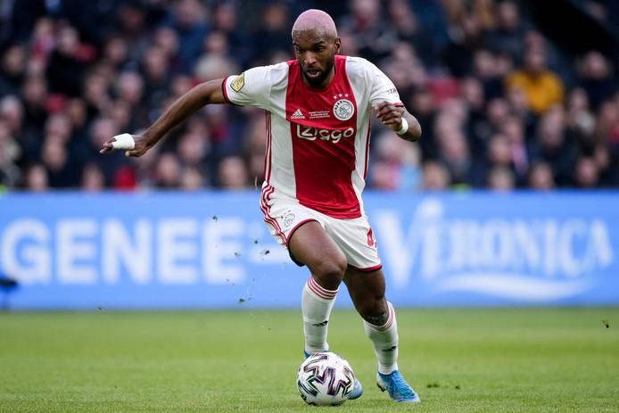 Ryan Babel bij zijn rentree voor Ajax tegen Sparta.