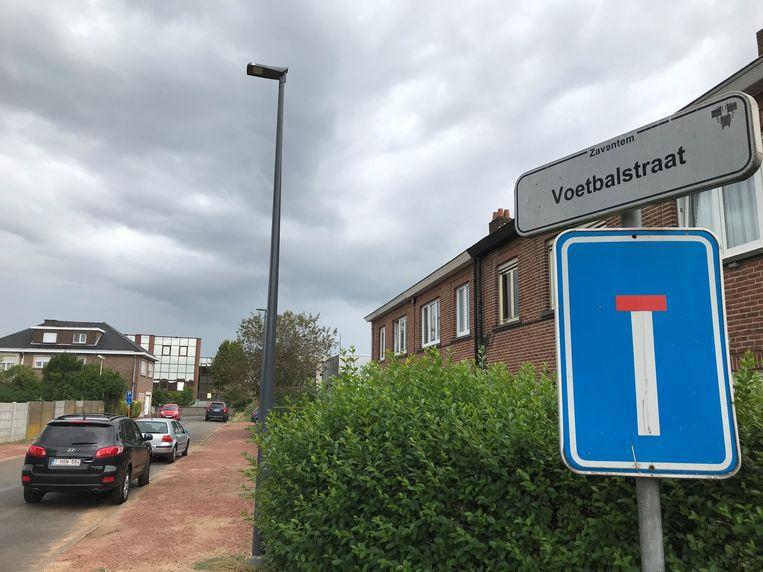 In de Voetbalstraat in Zaventem was de exhibitionist eind 2018 actief. Hij viel een vrouw zelfs fysiek lastig.
