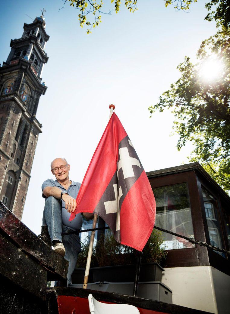 'Als ik dan weer naar huis ga, moet ik altijd even langs de Westertoren' Beeld Harmen De Jong