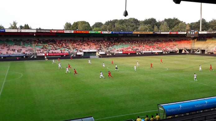 NEC oefent in De Goffert tegen Kayserispor.
