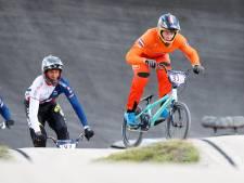 Judy Baauw en Niek Kimman winnen wereldbeker BMX in Arnhem