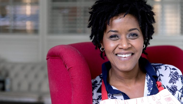 Ook Dolores Leeuwin stopt bij het Sinterklaasjournaal uit onvrede over Zwarte Piet. Beeld ANP Kippa