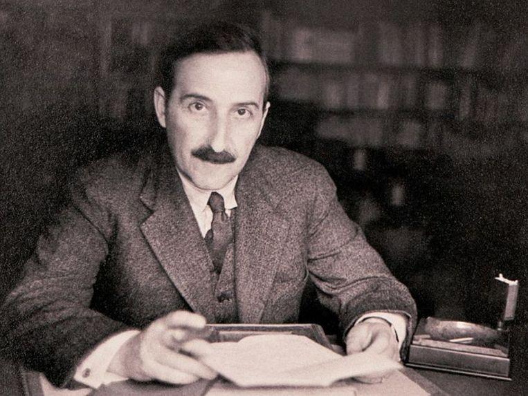 Schrijver Stephan Zweig Beeld