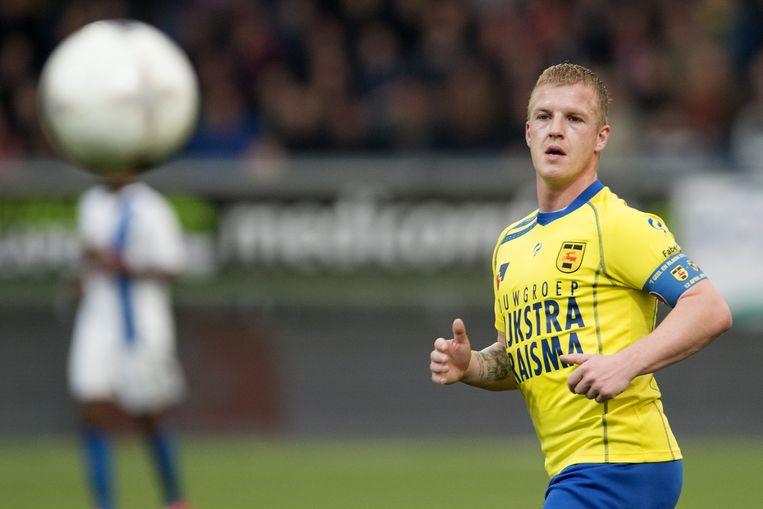 Van der Laan speelde tussen 2011 en 2014 ook al in Leeuwarden. Beeld pro shots
