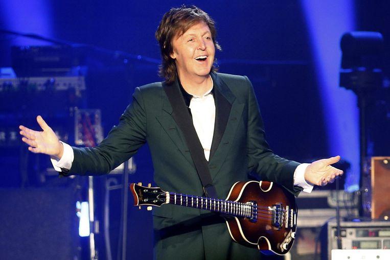 Paul McCartney komt naar Pinkpop. Beeld EPA
