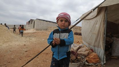 """Syrische kinderen vriezen dood terwijl het bommen regent: """"Het kan niemand wat schelen"""""""