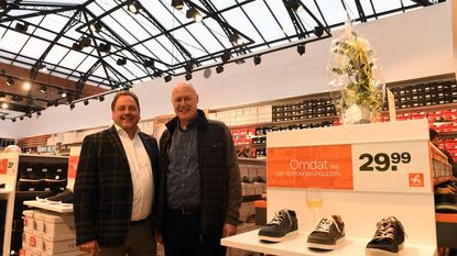 Schoenenketen vanHaren opent winkel in Shopping Center